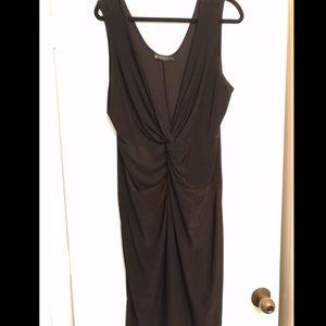 Fashion to Figure Black Knot Front Dress size 3X
